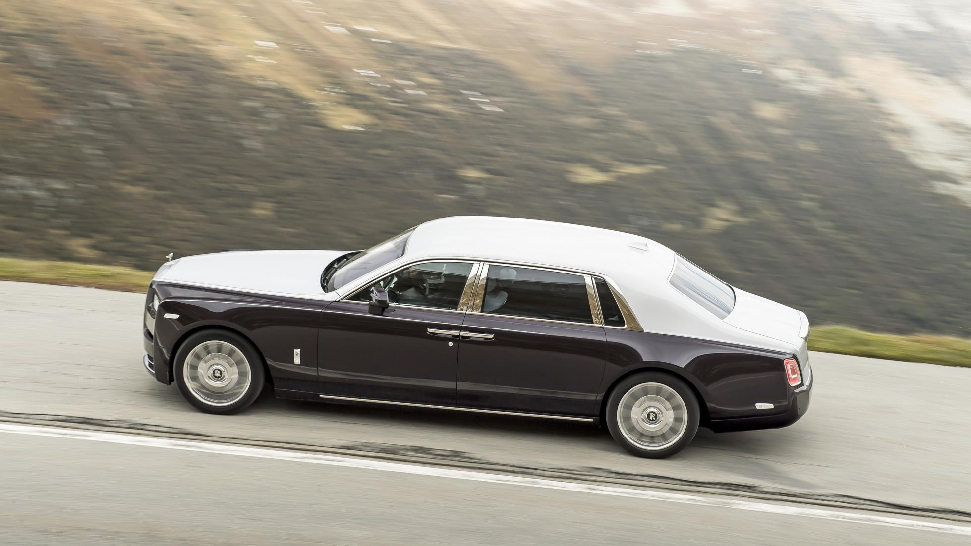 new Rolls-Royce Phantom 8