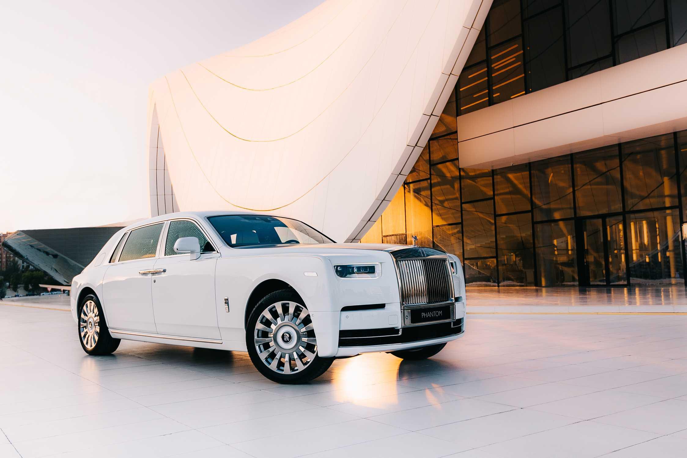 Wedding Car Hire | Rolls-Royce Phantom 8