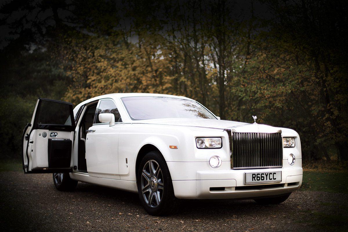 Wedding Car Hire | Rolls Royce Phantom